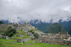 Ruins of Machu Picchu Stock Photo