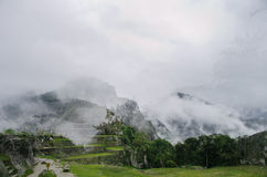 Ruins of Machu Picchu Stock Photography