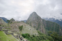 Ruins of Machu Picchu Stock Image
