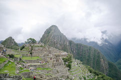 Ruins of Machu Picchu Stock Photos