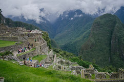 Ruins of Machu Picchu Stock Images