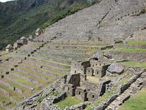 Ruins of Machu Picchu, Peru Stock Image