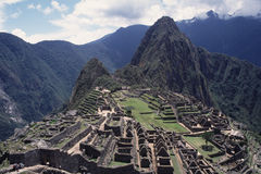 Ruins of Machu Picchu, Peru Royalty Free Stock Photo