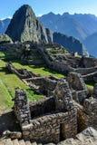 The ruins of Machu Picchu, the sacred city of Incas, Peru Royalty Free Stock Image