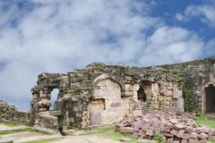 Ruins Madan Mahal Fort, Jabalpur, India Royalty Free Stock Photography