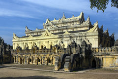 Ancient Monastery Ruins - Innwa - Myanmar (Burma) Royalty Free Stock Images