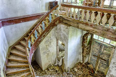 The ruins of a manor house Royalty Free Stock Photos