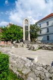 Ruins of Maria Magdalena Church Royalty Free Stock Photos