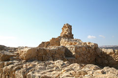 Ruins at Masada Royalty Free Stock Images