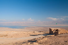 Ruins of Masada Royalty Free Stock Photo