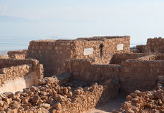 Ruins of Masada Royalty Free Stock Photos