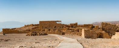 Ruins of Masada Stock Photo