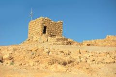 Ruins of Masada Fortress Stock Photos