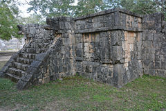 Ruins in Mayan archeological site of Chichen Itza. Royalty Free Stock Images