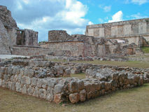 Ruins of the Mayan site - Uxmal Stock Photography