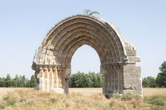 Ruins of a medieval arch Royalty Free Stock Photography