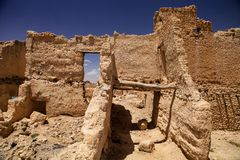 Ruins of medieval casbah, Morocco Stock Photography