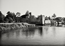 Ruins of Medieval Castle stock images