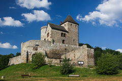 Ruins of the medieval castle of Bedzin Royalty Free Stock Photo