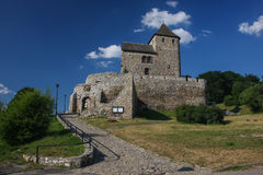 Ruins of the medieval castle of Bedzin Royalty Free Stock Image
