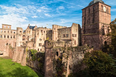 Ruins of medieval castle -  Heidelberg. Germany Royalty Free Stock Photo