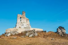Medieval castle in Mirow, Poland Royalty Free Stock Photography