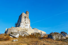 Ruins of medieval castle Mirow in Poland Stock Images
