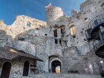 Ruins of medieval castle Ogrodzieniec Royalty Free Stock Photos