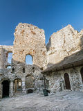 Ruins of medieval castle Ogrodzieniec Royalty Free Stock Image