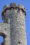 Ruins of 14th century medieval castle, Ogrodzieniec Castle,Trail of the Eagles Nests, Podzamcze, Poland. Ruins of  medieval castle, Ogrodzieniec Castle Royalty Free Stock Photos