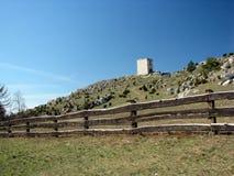 Ruins of medieval castle of Olsztyn near Czestochowa. Stock Photography