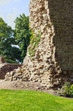 Ruins of the medieval castle Stock Photos