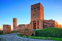 Ruins of the medieval castle Stock Photo