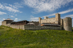 Ruins of the medieval castle of Rakvere, Estonia Stock Photos