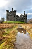 Ruins of medieval castle in Scotland Stock Photos