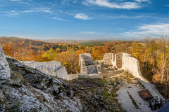 Ruins of medieval castle Smolen Royalty Free Stock Photo