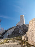 Ruins of medieval castle Smolen Royalty Free Stock Image