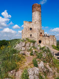The ruins of a medieval castle Stock Images