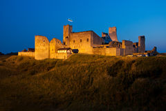 Ruins of a medieval fortress. Royalty Free Stock Photo