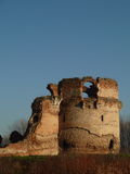 Ruins of medieval fortress in Serbia Royalty Free Stock Photos