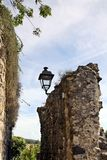 Ruins of a medieval fortress Royalty Free Stock Images