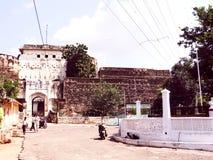Kishangarh fort. Ruins of medieval Kishangarh fort belong to the mighty Rajput kings royalty free stock image