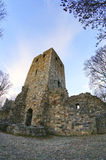 The ruins of the medieval St Peter's church. Sigtuna, Sweden Royalty Free Stock Photography