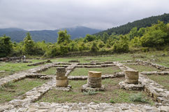 Ruins of the medieval town of Veliki Preslav Royalty Free Stock Photos