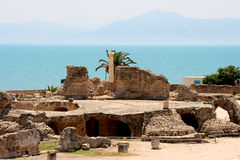 Ruins at the mediterranean Royalty Free Stock Photos