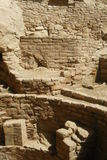 Ruins at Mesa Verde Royalty Free Stock Photo