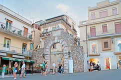 The ruins of Messina Gate Stock Photography