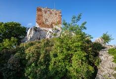 Ruins in Mikulov Stock Photo