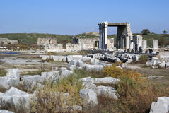 Ruins in Miletus Royalty Free Stock Image