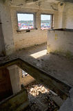 The ruins of military barracks at Borne Sulinowo, Poland Stock Photos